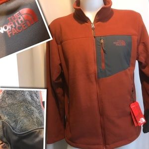 The North Face Faux Fur Men's Jacket Brand New Lg.
